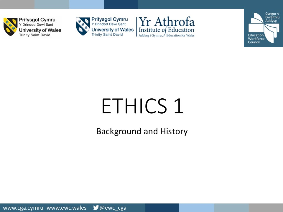 ETHICS 1 Background EWC Amends